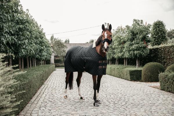 Kentucky Horsewear Stalldecke Schwarz Seite