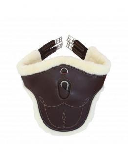 Kentucky Horsewear Stollengurt Schaffell
