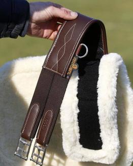 Kentucky Horsewear Stollengurt Schaffell getrennt