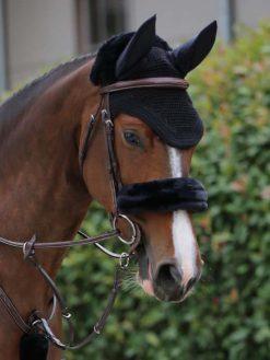 Kentucky Horsewear Nasenriemen Schwarz