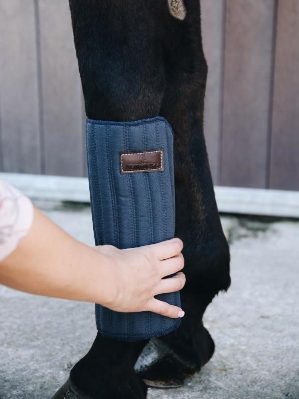 Kentucky Horsewear Bandagierunterlagen Absorb MarineBein