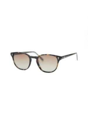 Brille-Braun-Seitenansicht