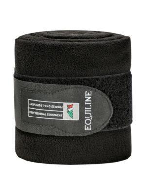 Equiline-Polo-Fleece-Schwarz